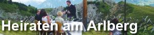 Heiraten am Arlberg
