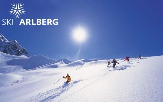 Skifahren im Skigebiet Ski Arlberg