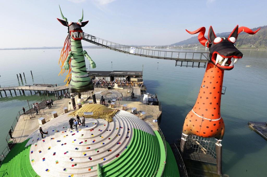 Die Zauberflöte spielt 2013 auf der Seebühne bei den Bregenzer Festspielen