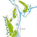 Golfclub Silvretta Montafon Platz Karte
