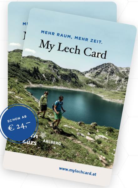 Lech Card: Kostenlose Freizeitangebote ab der 2. Übernachtung