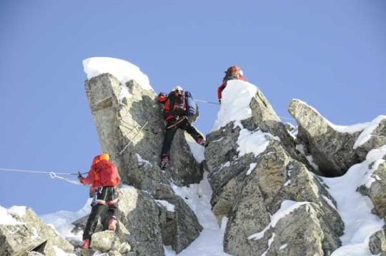 winterklettersteig, arlberg, st. anton