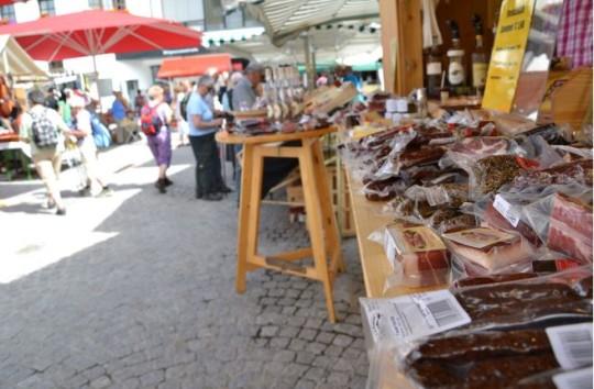 tannbergmarkt, tannberg, speck, Strickwaren, lebensmittel