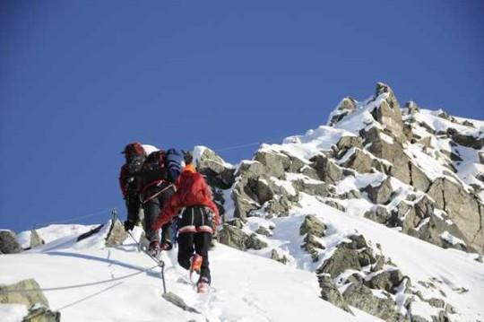Winterklettersteig, Arlberg