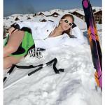 Skilehrerinnen Kalender 2014 im Schnee