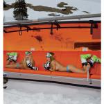 Skilehrerinnen Kalender 2014 auf Sessellift