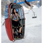 Skilehrerinnen Kalender 2014 in Gondel