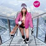 Skilehrerinnen Kalender 2014 Amina