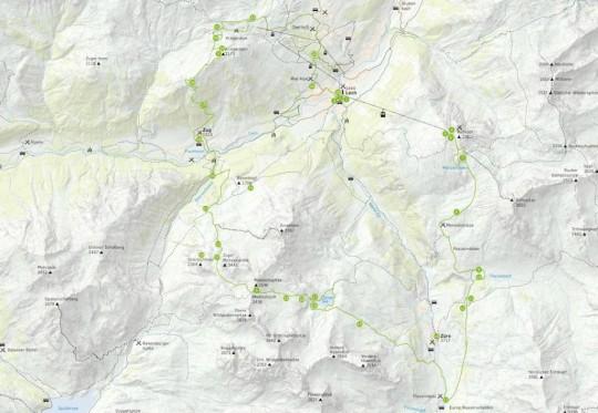Der grüne Ring - Karte