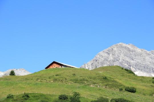 Grüner Ring Wanderung in Lech, Vorarlberg