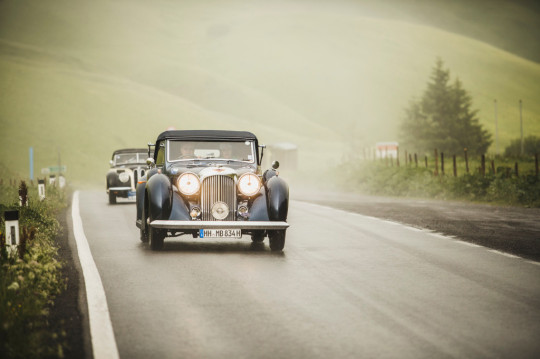 Arlberg Classic Car Rally (Bild Christoph Schöch, lech-zuers.at)