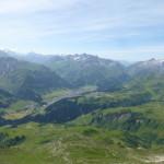 Blick auf Lech am Arlberg vom Karhorn