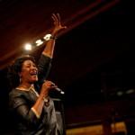 Sängerin beim Lech Classic Music Festival Lech (Fotos: Lisa Fail, Lech Zürs Tourismus)