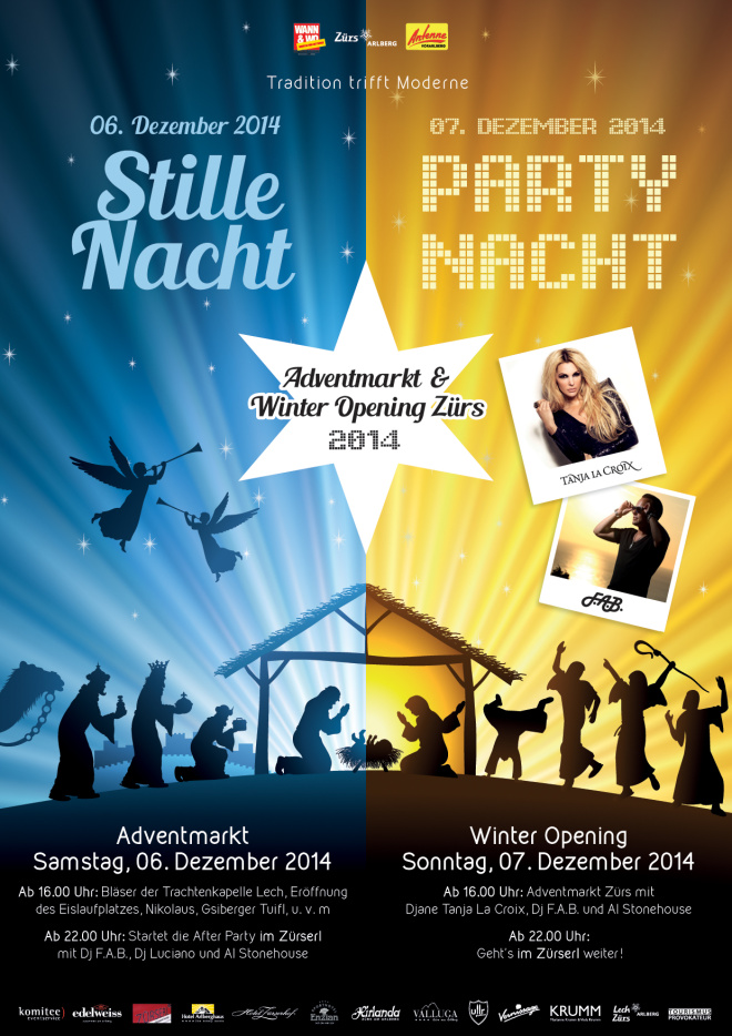Winter Opening Zürs am Arlberg 6. & 7. Dezember 2014