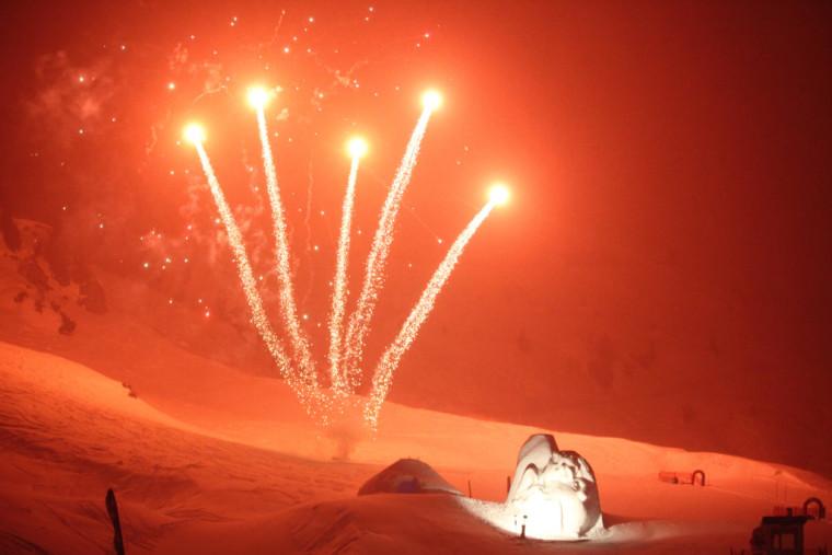Fackellauf der Skischule Lech/Oberlech (Bilder: lech-zuers.at)