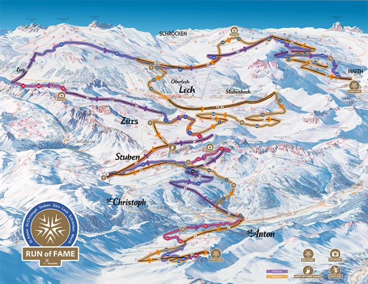 """Die neue Skirunde """"Run of Fame"""""""