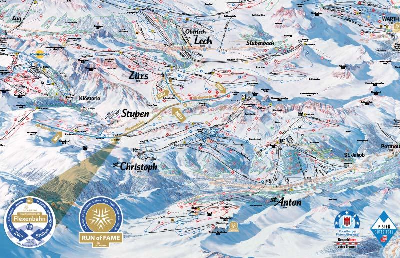 Ski Arlberg wird zum größten Skigebiet in Österreich