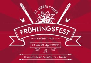 22. Oberlecher Frühlingsfest / Saisonfinale am Arlberg: 21.-23. April 2017
