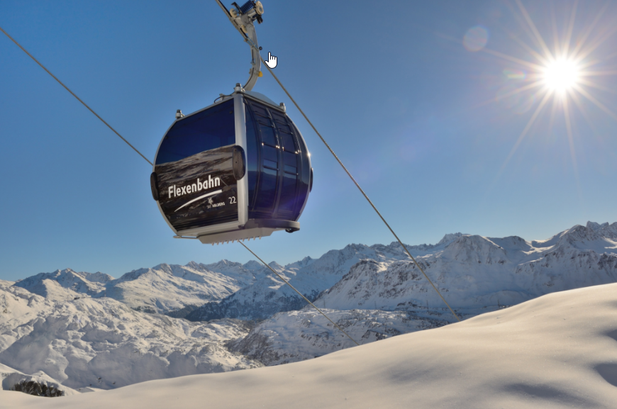 Flexenbahn Arlberg