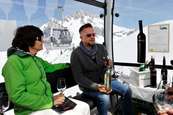 Weingondel am Arlberg, Lech
