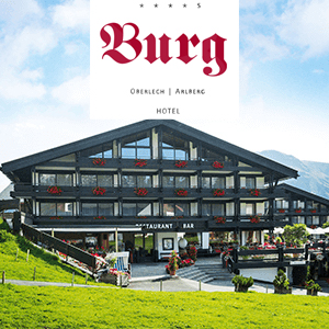 Burg Hotel in Oberlech am Arlberg