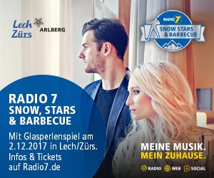 Radio 7 Snow, Stars & Barbecue, Glasperlenspiel am 2. Dezember 2017
